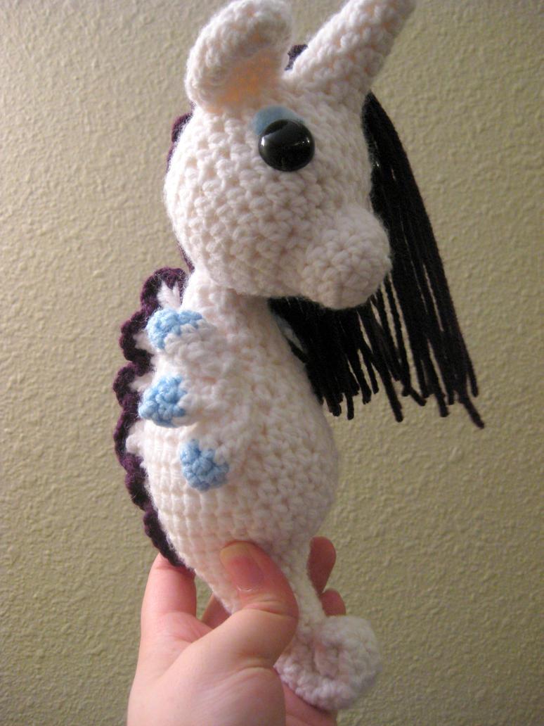 My Little Pony - Rarity as a Sea Pony by kaerfel