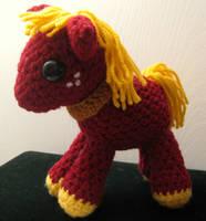 My Little Pony - Baby Big Macintosh by kaerfel