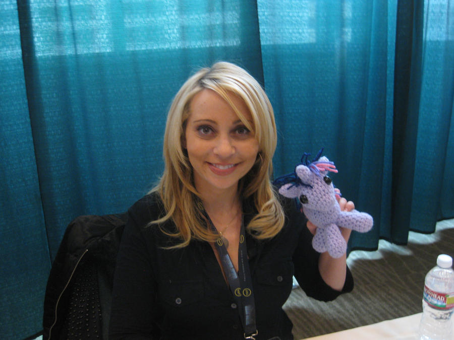 My Little Pony - Tara Strong with Twilight Sparkle