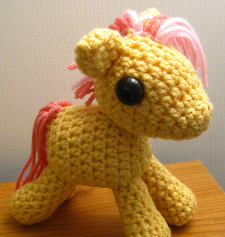 Amigurumi Mane : My Little Pony - Candy Mane by kaerfel on deviantART