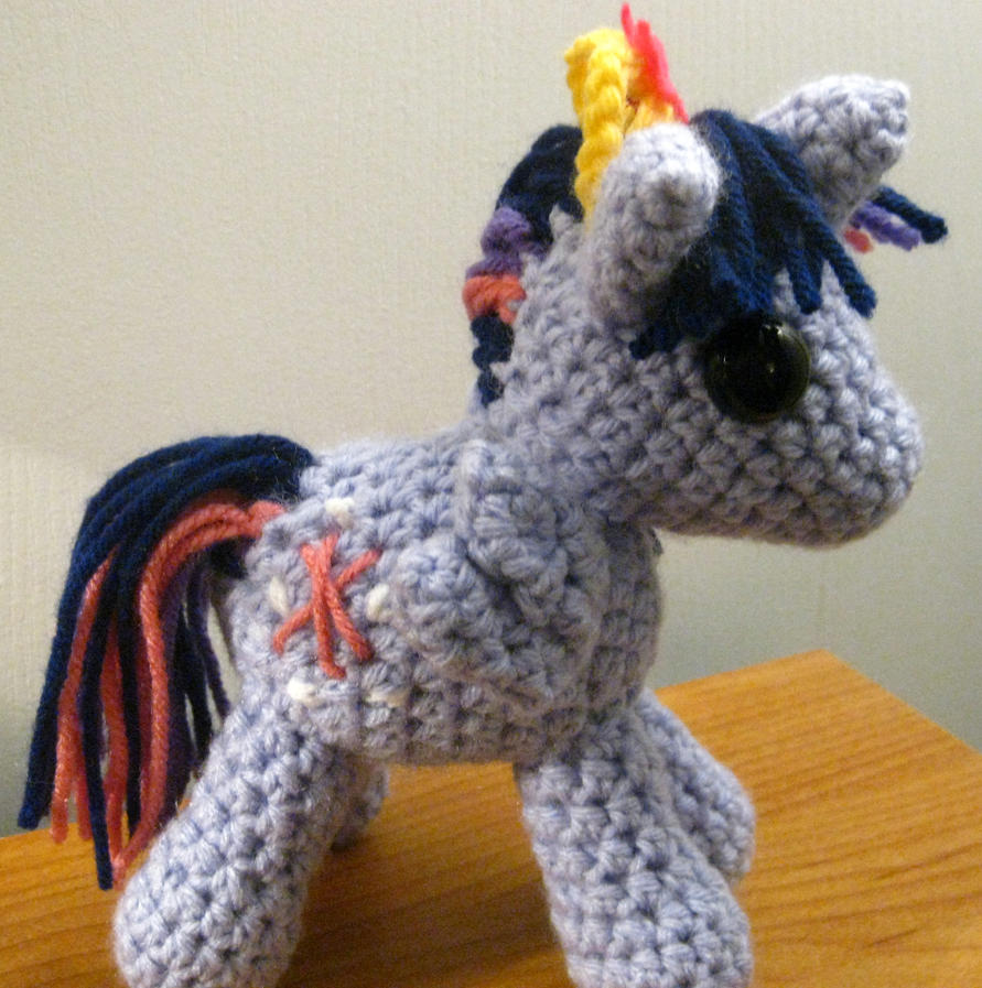 Princess Twilight Sparkle Plushie - Side View by kaerfel