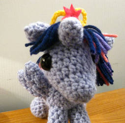 Princess Twilight Sparkle Plushie - Front View by kaerfel