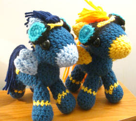 The Wonderbolts - Soarin' and Spitfire Plushies