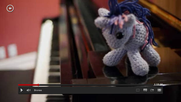Twilight Sparkle on Tara Strong's Piano in Bronies
