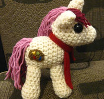 OC Pony Plushie - Red Palette