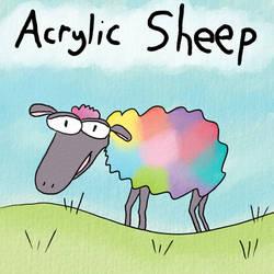 Acrylic Sheep