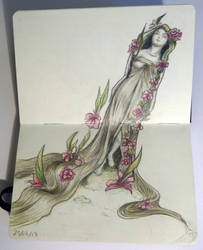 Sketchbook - Mucha inspiration :)