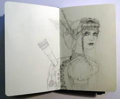 Sketchbook - Steampunk inspiration !