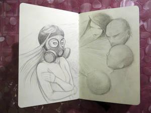 Sketchbook - Social Anxiety