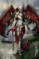 Dragon knight by Cerivena