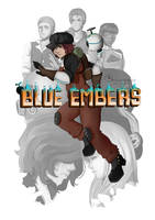 Blue Embers Pitch Project Cover by Cerivena