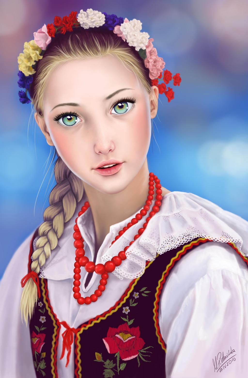 girl polish images - usseek.com