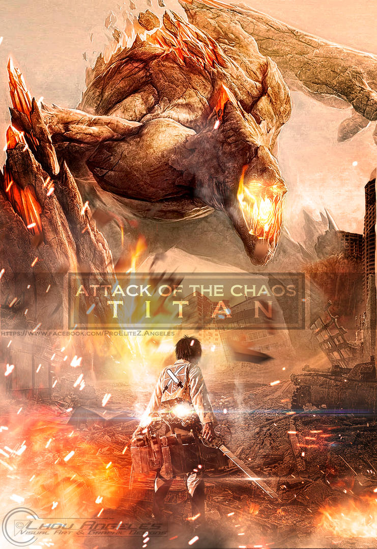 Attack of the Chaos Titan by Elitez21