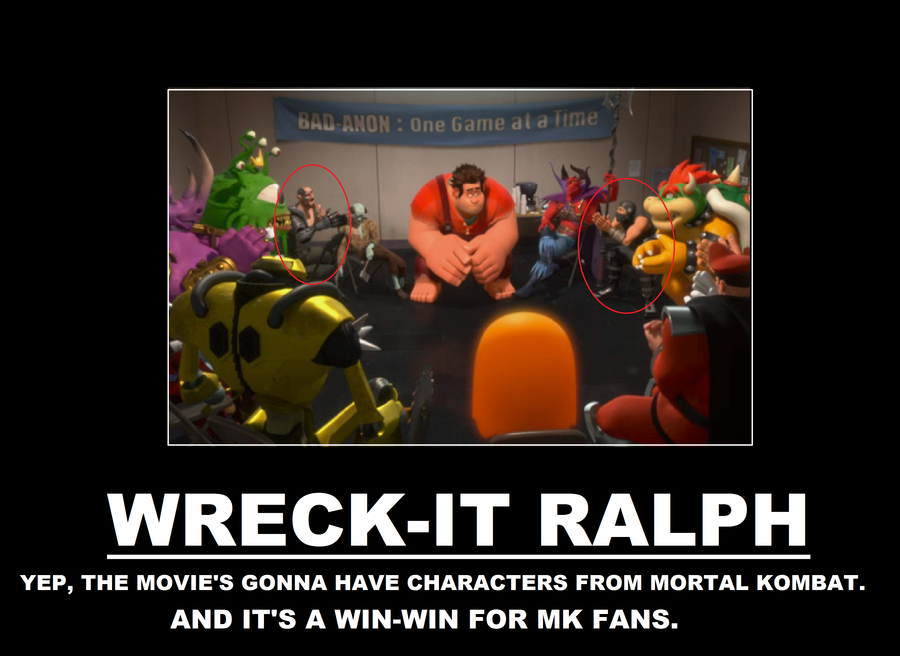 Wreck-it Ralph Demotivational Poster by TRC-Tooniversity ...