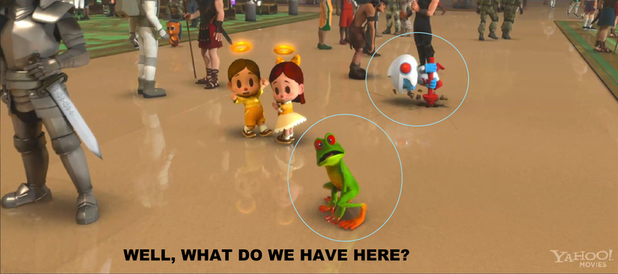 Dig Dug and Frogger on Wreck-it Ralph? by thekirbykrisis