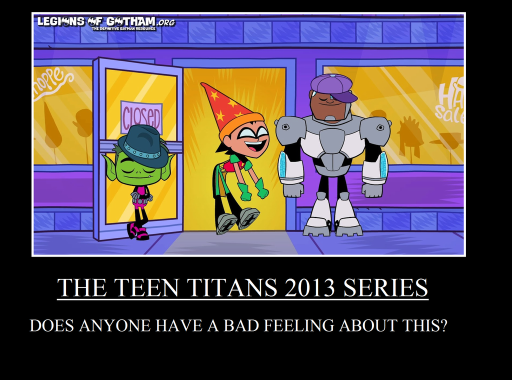teen titans go funny tv tropes ok so i saw this when my