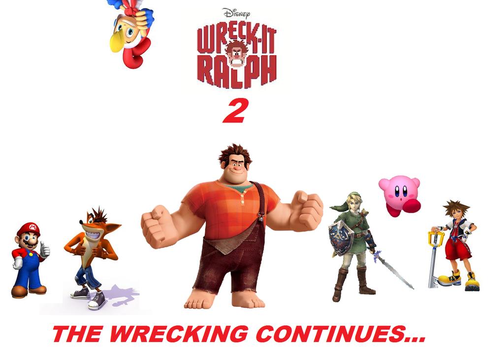 Wreck it ralph 2 movie poster by thekirbykrisis on deviantart