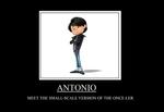 Antonio Demotivational #2 by TRC-Tooniversity