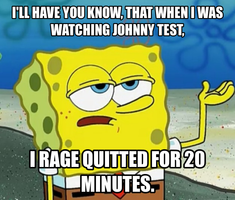 Spongebob Meme #1: Johnny Test by TRC-Tooniversity