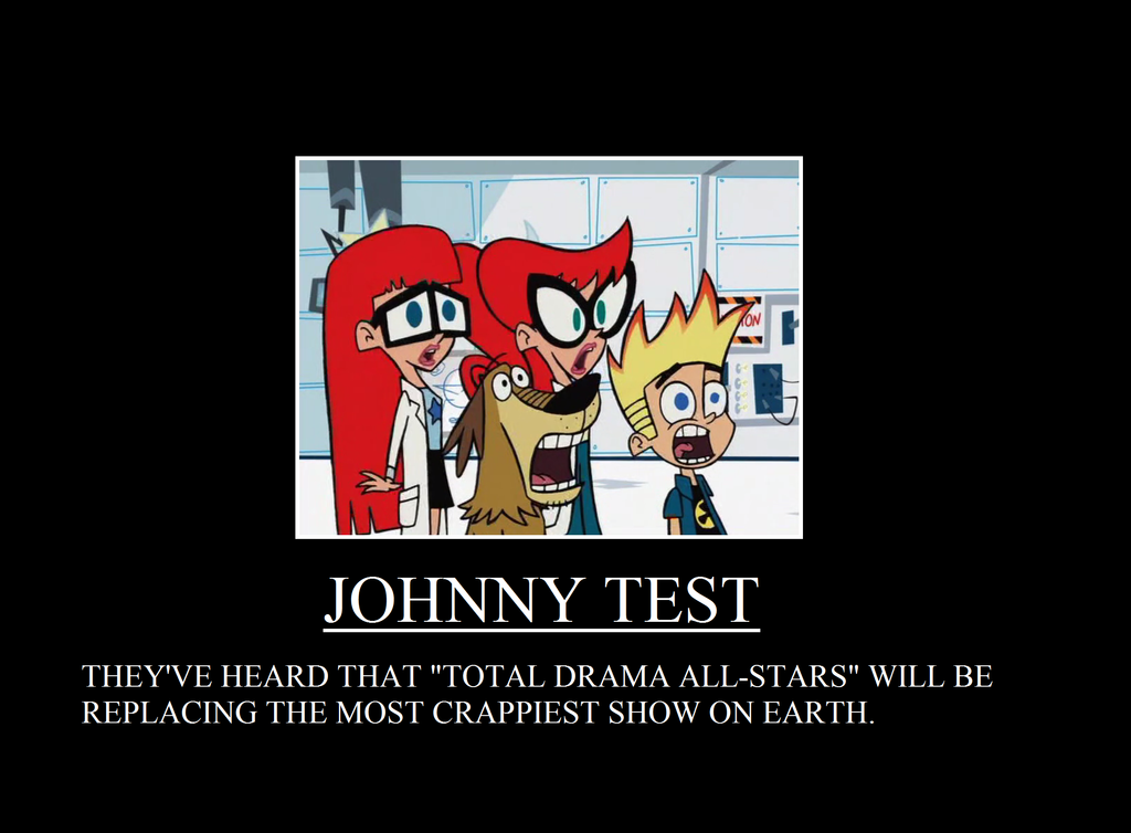 Total Drama Replaces Johnny Test In September. By TRC