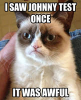 Grumpy Cat's Response to Johnny Test by TRC-Tooniversity