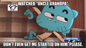 Gumball the Cartoon Critic: Uncle Grandpa