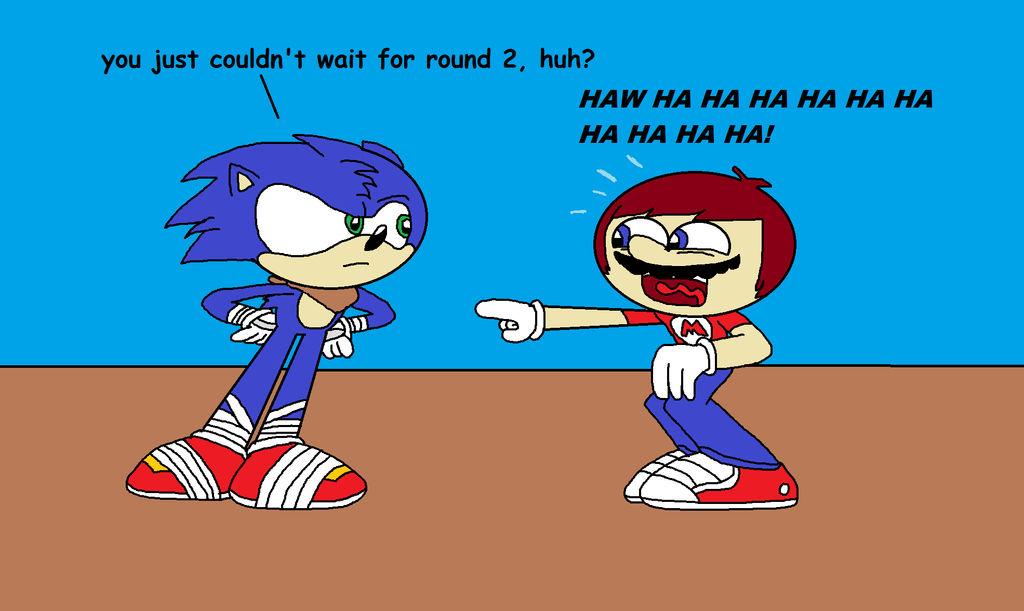 Nintendo/Sony Mario Bros Movie, McDonalds Movie & Sonic ... |Super Mario Sonic Boom