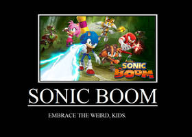 Sonic Boom Demotivational by TRC-Tooniversity