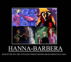 Hanna-Barbera Demotivational by TRC-Tooniversity