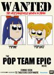 The Pop Team Epic Movie - Poster