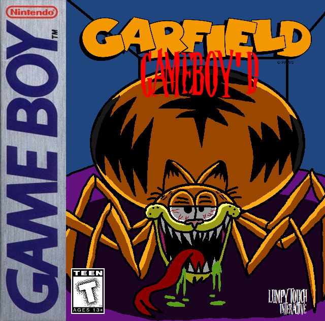 Garfield Gameboy D The Game By Trc Tooniversity On Deviantart