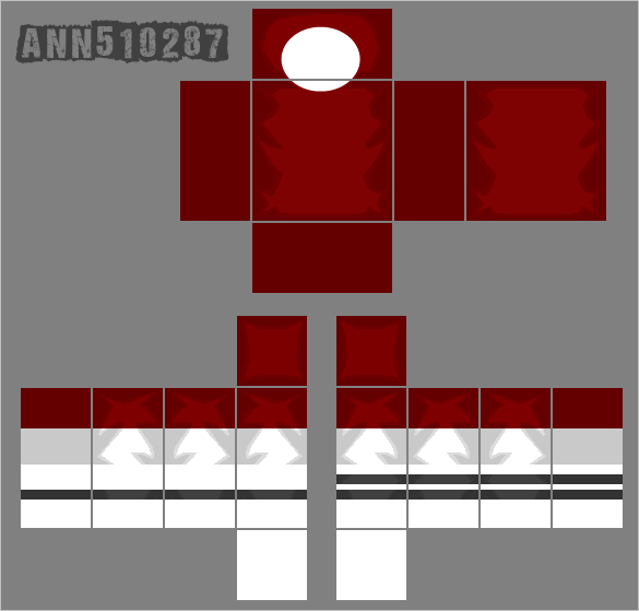 Roblox red shirt template by ann510287 on deviantart Roblox designing clothes