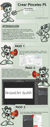 Tutorial Crear Pinceles en Photoshop by lauraypablo