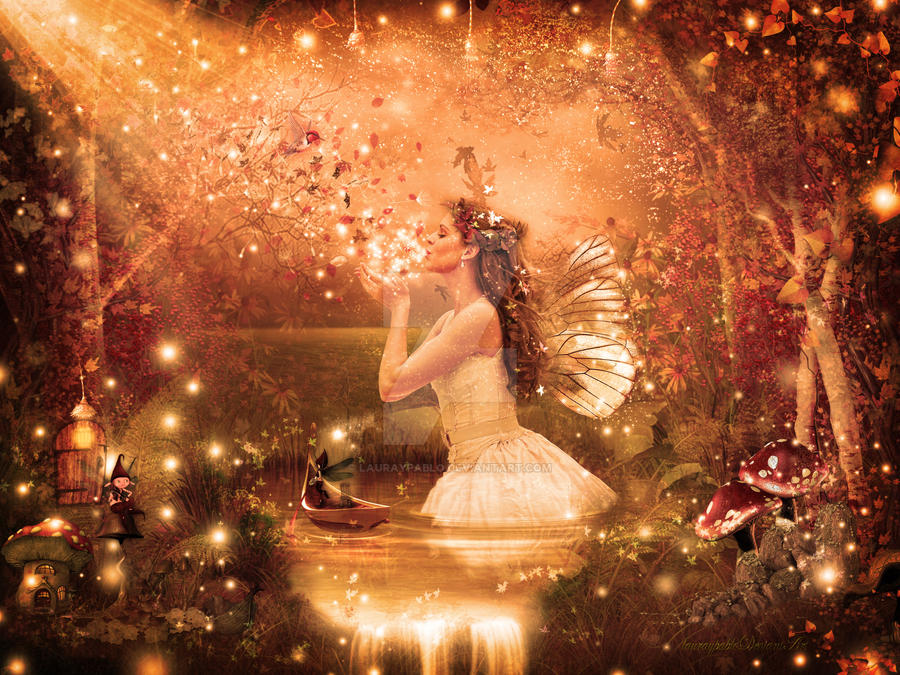 Autumn Fairy by lauraypablo
