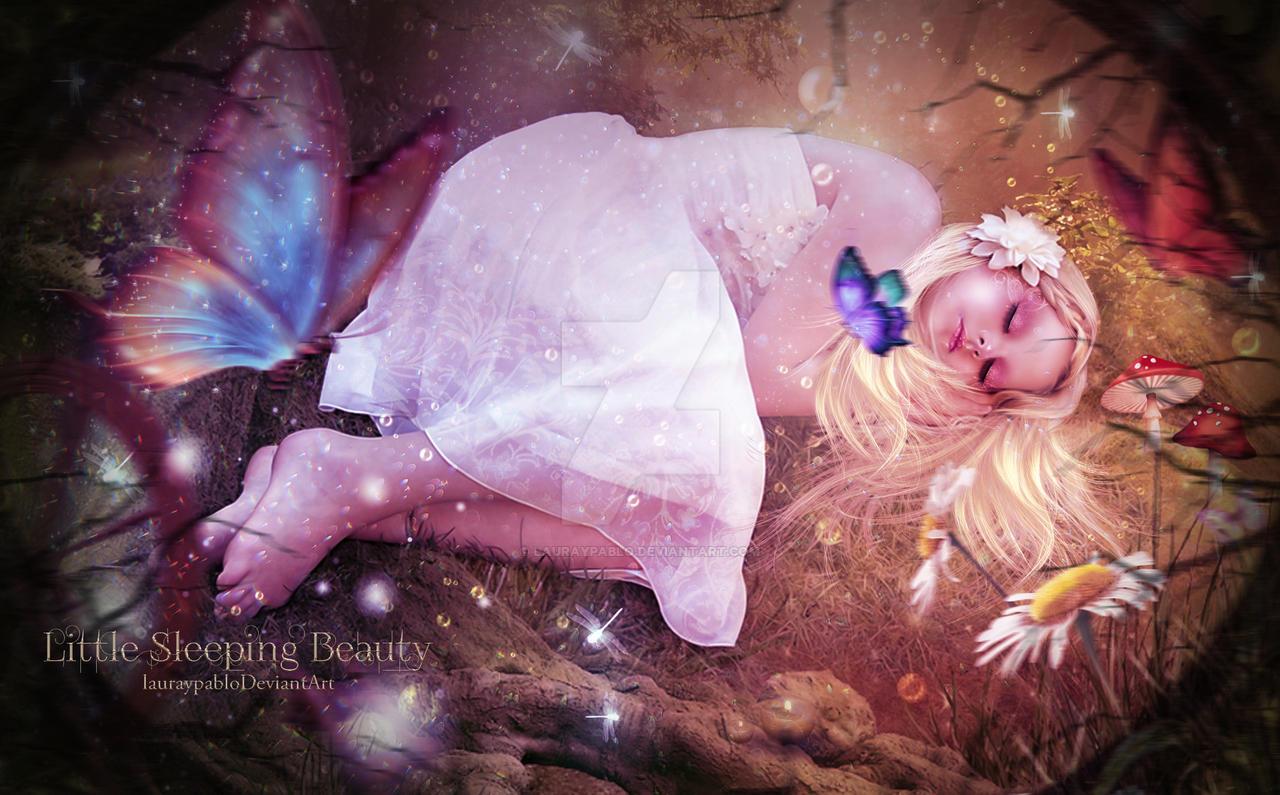 Little Sleeping Beauty by lauraypablo