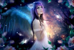 Magic Angel of the Forest
