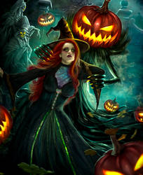 The Pumpkin and the Witch