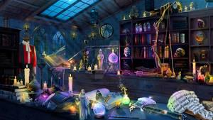 Tordek's Study (Magical version)