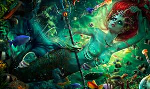 Dark Ariel by lauraypablo