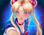 Sailor Moon Redraw lauraypablo