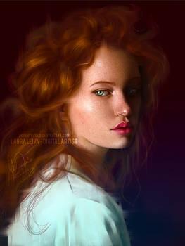 02 Realistic Portrait lauraypablo