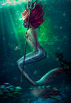 Saint Ariel by lauraypablo