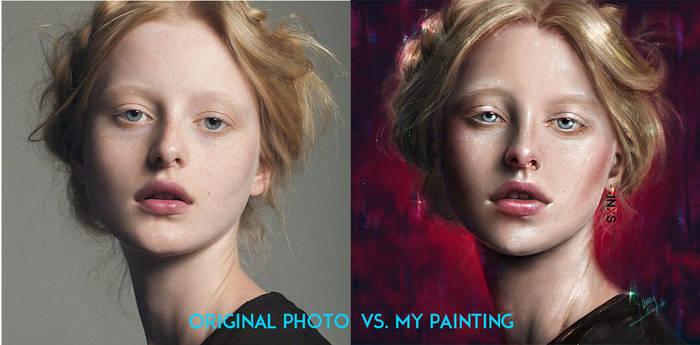 Original Photo Vs My Painting 3