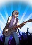 Rock Robin by CassieMarimoto