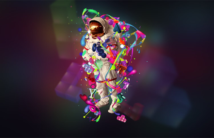 Space in color by StrangeProgram Sosyal Bilgiler Hazır Ödev Kapakları