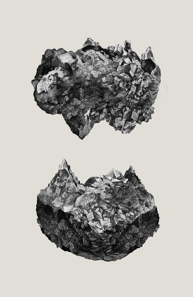 Geodes by StrangeProgram