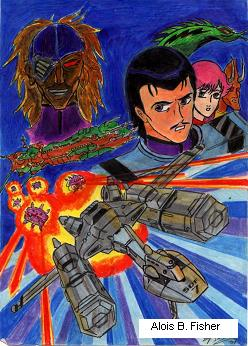 Robotech Sentinels pic by AloisFisher