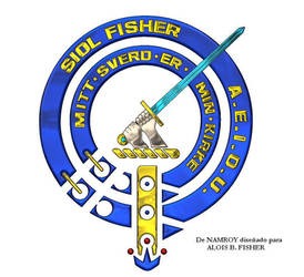 The Crest Badget of Clan Fisher