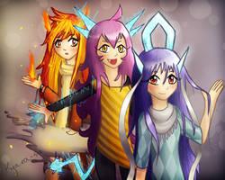 Legendary Beasts by Kyaira-su