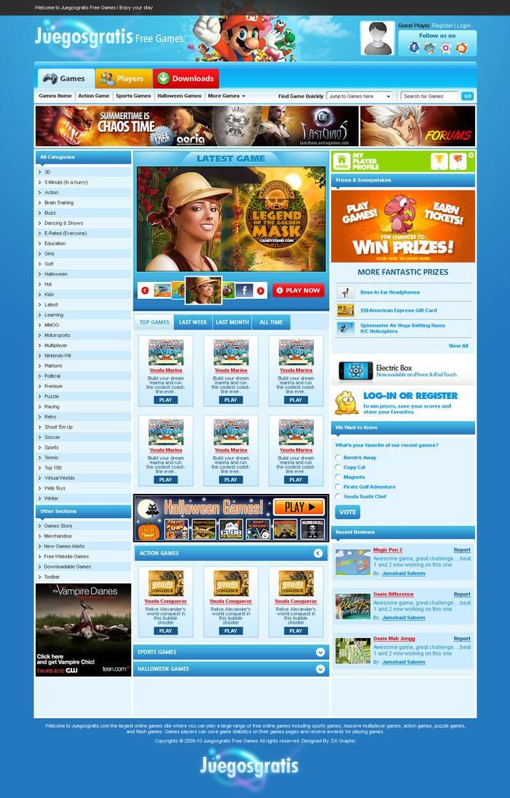 Juegosgratis Free Games by dxgraphic